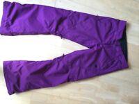 Purple DC Salopettes