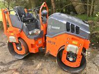 2016 HAMM HD12 Roller Compactor
