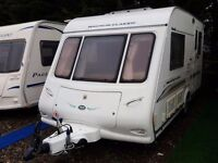 2004 Compass Magnum Classic 432 (Same as the Omega) 2 berth end kitchen Caravan