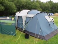4 man tent and extras