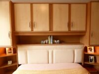 Overbed Unit includes Padded Headboard - £200