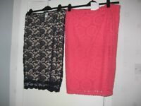 Ladies skirts all BNWT or not worn, all-in-one, tops and jeggings