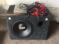 Jbl subwoofer and amp inc wiring kit