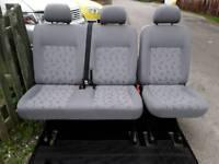 Vw t5 transporter kombi rear seats