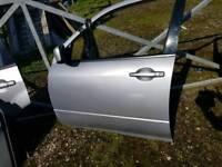 Mitsubishi outlander sport se silver 2004 door