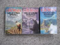Brian Aldiss - the complete Helliconia trilogy - Spring, Summer & Winter - over 1500 pages