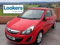 Vauxhall Corsa EXCITE AC (red) 2014-03-04