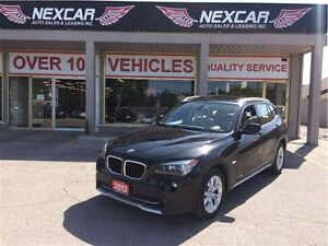 2012 BMW X1 AUT0 AWD LEATHER PANORAMIC ROOF 82K