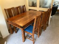 John Lewis Maharani Dining Room Table and Chairs