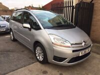 Citroen Grand C4 Picasso 1.6 VTi 16v VTR+ 5dr, p/x welcome, 6 MONTHS FREE WARRANTY