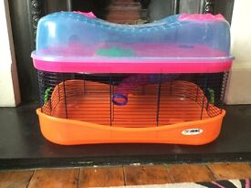 Imac 2 storey hamster cage with 3rd layer extension + accessories