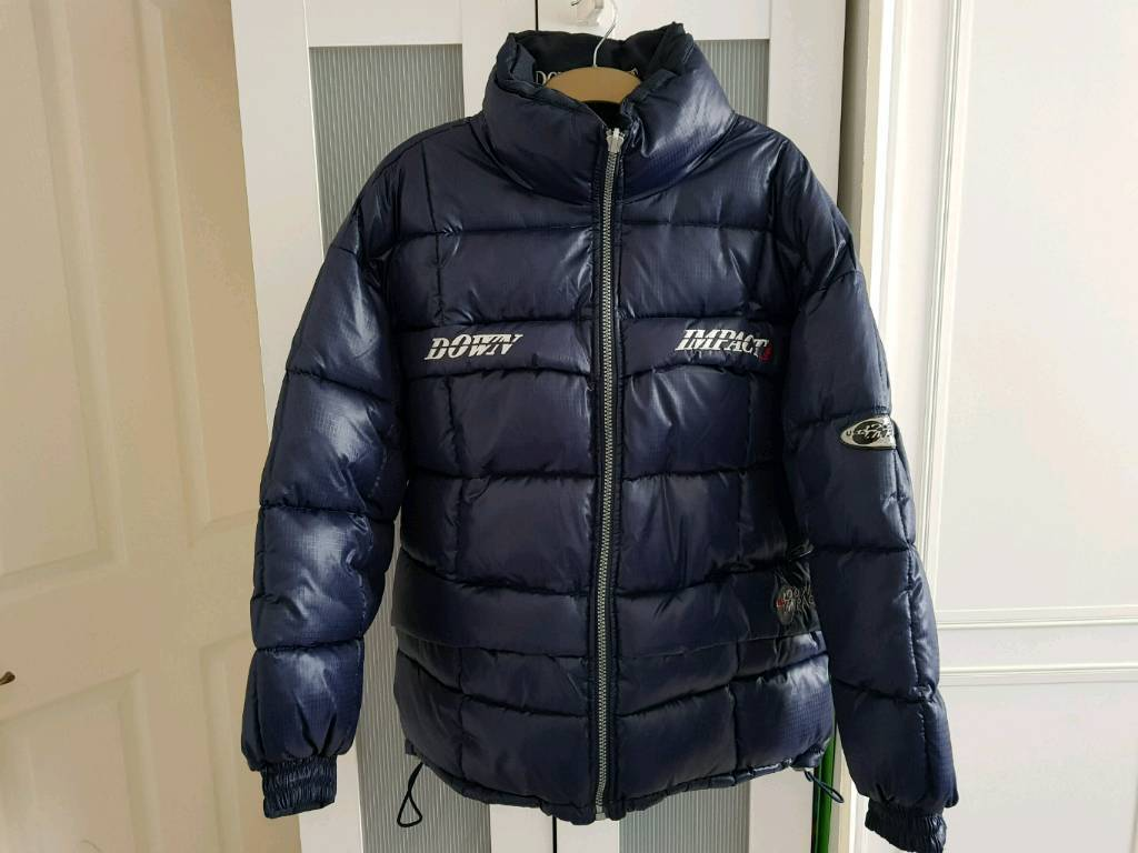 Down impact heavy quilted jacket