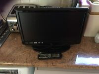Small screen (18 inches) digital tv