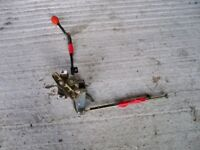 Honda 1211 ride-on mower spares: HYDROSTATIC SPEED CONTROL LEVER MECHANISM