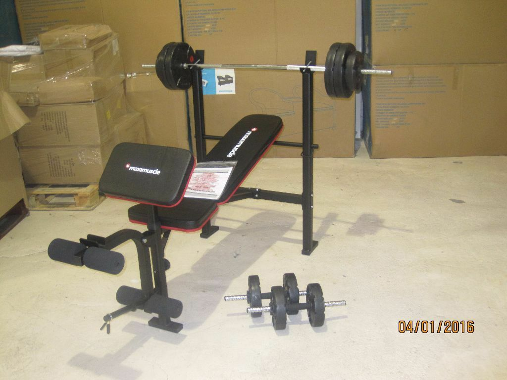 Maximuscle Bench And Weights Package In Blaydon On Tyne Tyne And Wear Gumtree