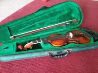 Violin - 1/4 size for 5 to 7 year olds