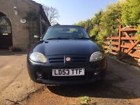 MGF / MGTF COOL BLUE ** LOW MILEAGE ONLY 55000**