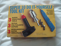 10 PC DIY HAND TOOL KIT