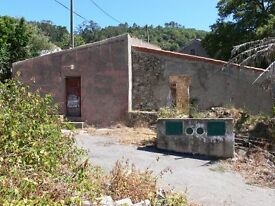 Algarve. Ruin/renovation. 154 metre stone house. 425 metre plot. Great project. Will accept £25,000
