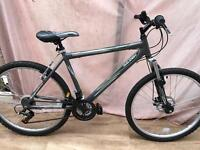 Mountain bike Raleigh with front suspension plus front disc break