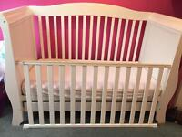 *REDUCED PRICE* White Sleigh Cot/Cot Bed/Sofa