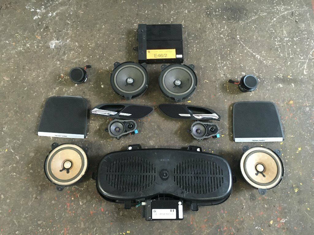 Bmw E46 M3 Coupe Harman Kardon 12 Speaker Amp Amp Sound System 330ci 325ci 318ci In Bedminster