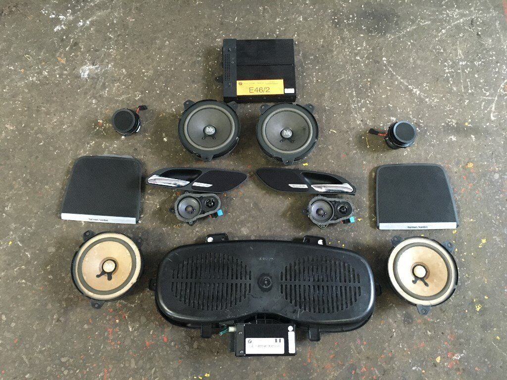 bmw e46 m3 coupe harman kardon 12 speaker amp sound. Black Bedroom Furniture Sets. Home Design Ideas