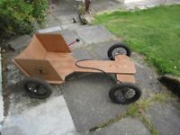 Wooden Skipper 7 Go Kart