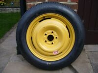 Space Saver spare wheel – Honda CRV