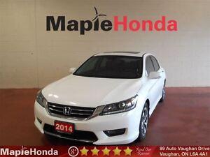 2014 Honda Accord Sedan EXL |Leather|Sunroof|Alloy Wheels|Blueto