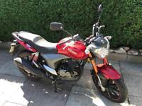Keeway RKV 125cc motorbike