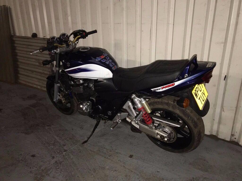 2007 SUZUKI GSX 1400 K6 BLUE FINAL EDITION