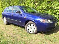 2004 NISSAN ALMERA - LOW MILES - SUPERB DRIVE - SERVICED