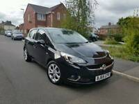 2015 VAUXHALL CORSA 1.4 SRI MANUAL 5 DOOR BLACK NEW SHAPE LOW MILEAGE BARGAIN!!