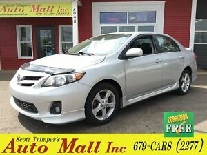2012 Toyota Corolla Sport Sedan Sunroof / Loaded