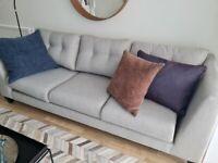 Grey sofa NEW
