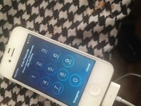 iPhone 4s with passcode not cratches no broken sell for parts if someone want