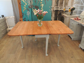 Shabby chic Edwardian dining table for 6-8 people