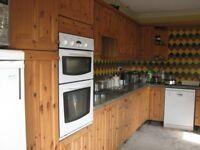 Kitchen units, Jewsons Applejack pine finish, plus some appliances (secondhand)