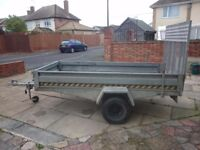 Box trailer galvanised ifor williams indespesion brender up