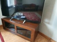 Sony dark wood TV stand in great condition.