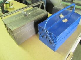 TWO CANTILEVER TOOLBOXES