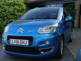 2011 Citroen C3 Picasso HDi (90) in metallic blue