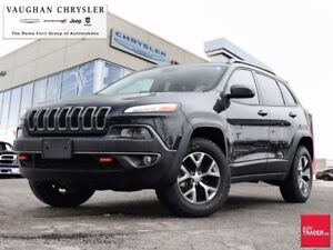2017 Jeep Cherokee 1 Owner Trailhawk * Only 21781 kms * Navigati