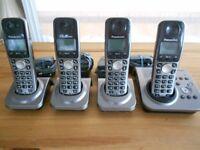 Panasonic Cordless Home Phone with Answering Machine