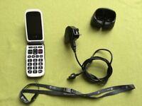 Doro mobile phone. Easy 612. Big button. VGC.
