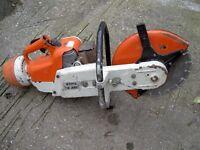 Stihl TS350 Disc Slab Cutter Saw.