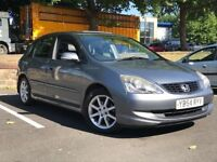 2005 HONDA CIVIC 1.6 VTEC EXECUTIVE *SUNROOF/FULL LEATHER* *S HISTORY* *BIG SPEC* *PX WELCOME*