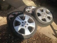 Vauxhall Astra Bertone 5 spoke Alloy Wheels