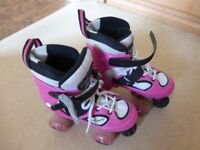 Girls roller skates Bargain £10